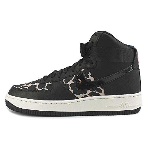 Nike Wmns Air Force 1hi Lib Qs, Zapatillas de Deporte para Mujer Rosa (Vachetta Tan / Black)