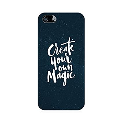 separation shoes d6224 c5c98 BIG E Create Your Own Magic Premium Printed Mobile Back: Amazon.in ...