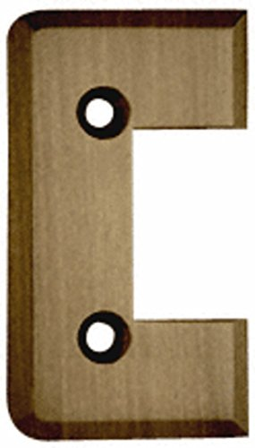 Crl Antique Brass Cologne - CRL Antique Brass Cologne Series Standard Cover Plate for the Door Side