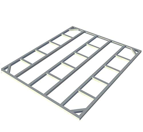 - Duramax 57600 8'x4' Metal Shed Foundation - for Pent Roof Shed