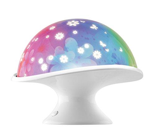 In My Room Moonlight Mushroom Tabletop Décor Night Light Projector Christmas Gift Ideas 5 Year Old Girl