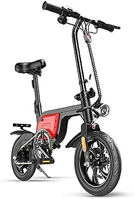 CBA BING Bicicleta eléctrica Plegable para Mujer/Hombre Adulto ...