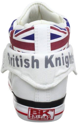 Adulto Knights Union Ginnastica Roco da Alto Multi Bianco Unisex Collo – 01 White Jack a Scarpe British 7wnRdqxwE