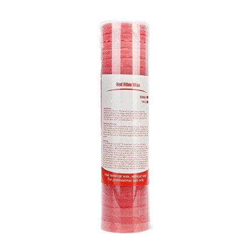 Bonjanvye Hard Wax Hair Removal Wax for Women Removing Body Hair Depilatory Wax Cake 500g (1 Kg Cakes)