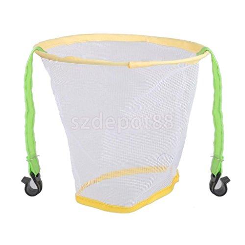 MIJORA-Kids Mesh Basketball Hoop Wall Mounted Hanging Net Basket Outdoor Game Toy