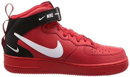 Nike Basketball '07 1 tour Chaussures 605 black Lv8 Red Multicolore Force De Air Yellow Homme white Mid university pqSWwrp8