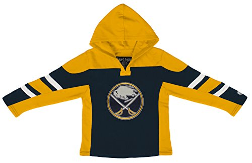NHL Buffalo Sabres Toddler Drift Pullover Hoodie, 4T, Navy (Buffalo Sabres Pullover)