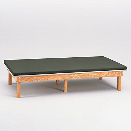 Heavy Duty Upholstered Mat Platform Treatment Table 6 x 8 - Upholstered Platform Mat
