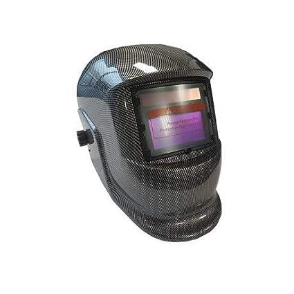 Casco de soldar automático sudor pantalla Carbon Diseño sudor Máscara Solar sudor Gafas sudor Cartel automático