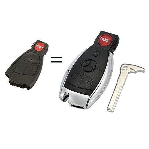 Car Key Fob Keyless Entry Remote fits Mercedes Benz (IYZ3312) Parts Mercedes C230