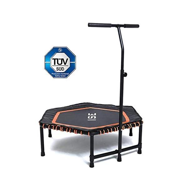 ISE Trampolino Elastico Fitness,Trampolino Mini Indoor con Impugnatura Regolabile in Altezza,Allenamento di Resistenza… 1 spesavip