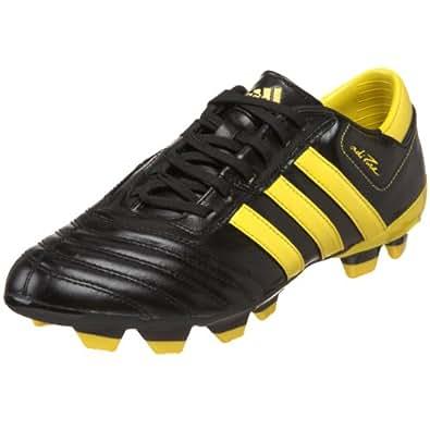 adidas Men's Adipure III TRX FG Soccer Shoe,Black/Sun (WC),4 D US