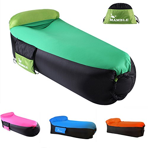 Inflatable Sofa Review: MAMBLE Inflatable Lounger Sofa Portable Sofa Bed Air Sofa