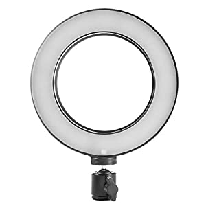 Childplaymate Dimmable LED Studio Camera Ring Light Photo Phone Video Light Annular Lamp