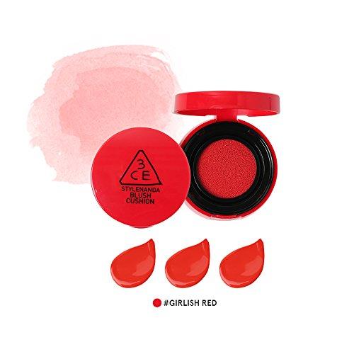 3CE Blush Cushion Newly Launched / Face blush / blush cushion / Stylenanda (Girlish Red)
