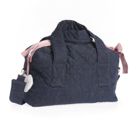 Therese Accessoires Jeans Karo - Bolso cambiador (30 x 26 cm), color rojo
