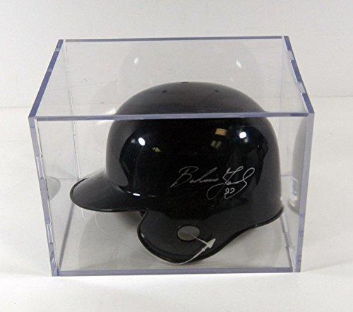 Barbaro-Garbey-SignedAutographed-Detroit-Tigers-Mini-Helmet-in-Display-Case-Autographed-MLB-Mini-Helmets