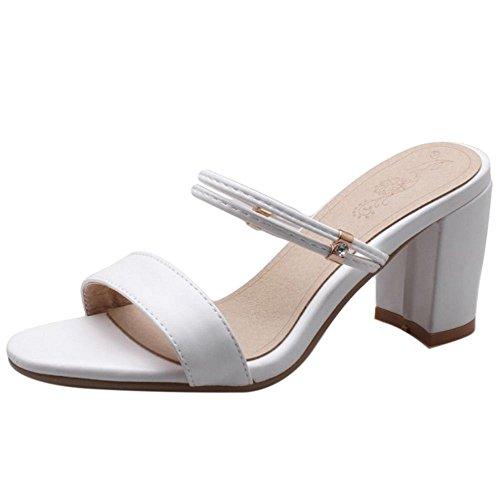 Ouvert White Femmes Chaussures Bout VulusValas wXPExH0q