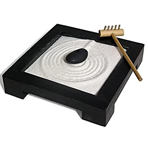 miniature zen garden set kitchen home. Black Bedroom Furniture Sets. Home Design Ideas