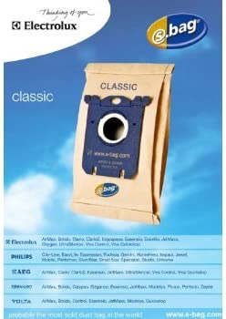 5 Pezzi Electrolux 900084481 E200B Sacco S Bag Classic