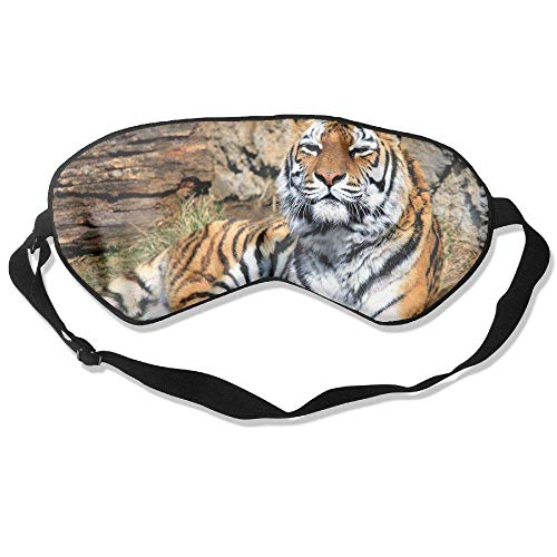 Tuoneng Siberian Tiger,Silk Sleeping,Eye Mask Lightweight and Comfortable Eyeshade