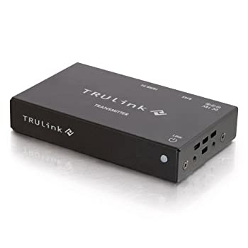 Image of Distribution C2G 29241 HDMI HDBaseT over Cat5 Extender Box Transmitter, TAA Compliant, Black