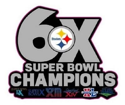 - STEELERS CHAMPIONS PIN SUPERBOWL 6X CHAMPS PIN 2017-18 SUPER BOWL 52