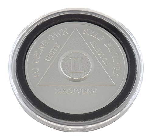 2 Year - Special AA Coins - .999 Silver AA Medallion   Recovery Shop (Coin Ounce 0.5 Silver)