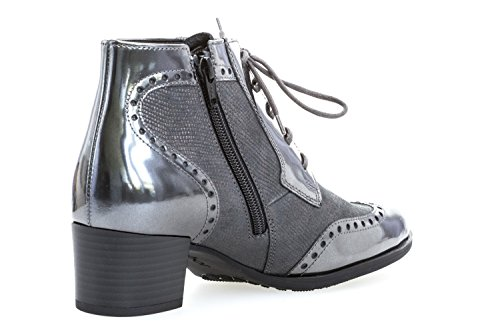 Gabor Donna Scarpe stringate anthr/steel(Micro) grigio, (anthr/steel(Micro)) 72.845.83