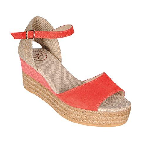 Sandalette DONNA koralle