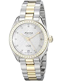 Womens AL-525STD2CD3B Comtesse Analog Display Automatic Self Wind Two Tone Watch. Alpina