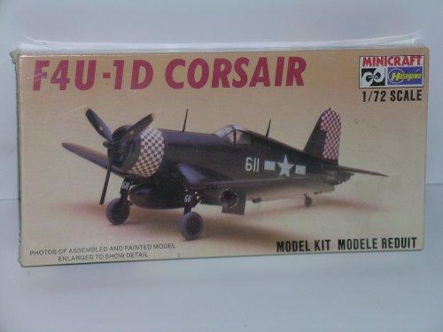 F4U-1D Corsair Fighter Aircraft--Plastic Model (F4u 1d Corsair Fighter)