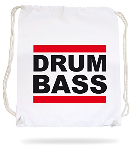 Drum and Bass Gymsack White Certified Freak kvp71rW