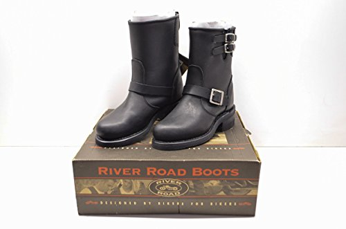 River Road 2319170 Twin Buck Engineer Boots Women's Sz 8 QTY - Road Engineer River Boots