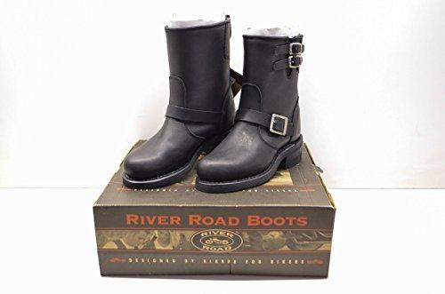 River Road 2319170 Twin Buck Engineer Boots Women's Sz 8 QTY 1