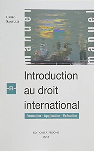 En ligne téléchargement Introduction au droit international : Formation, application, exécution pdf