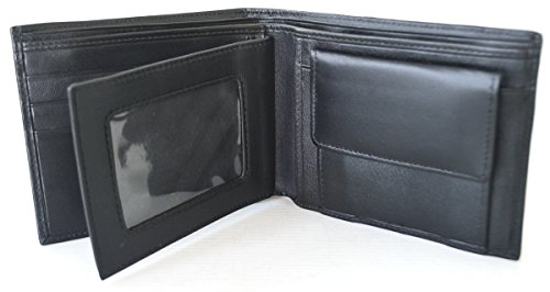 Authentic Wallet Black Men's Authentic Snake Bifold Cobra Snake Snake Skin 7PSUwUqd