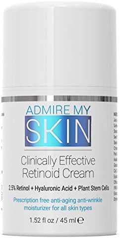 Potent Retinoid Cream Provides Clinical Retinol Results Without A Prescription - The Most Effective Retinoic Acid Moisturizer For Acne & Wrinkles Will Provide You With That Youthful Glow