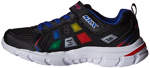 Skechers Kids Boys' Nitrate Game Kicks Og 91538L BlackMulti