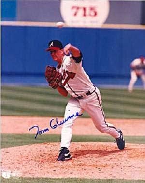 Autographed Glavine Photo - 8x10 - Autographed MLB - Autographed 8x10 Photo Mlb Glavine