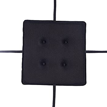 amazon com square seat cushion for metal bar stools or kitchen