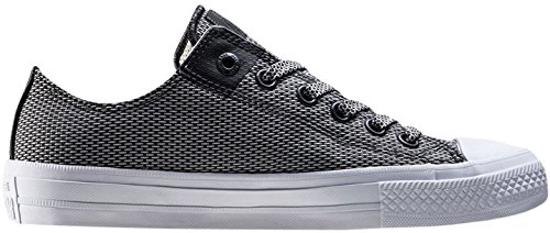 Converse Men's Chuck Taylor All Star Ii Ox Men's Grey Sneakers Grey