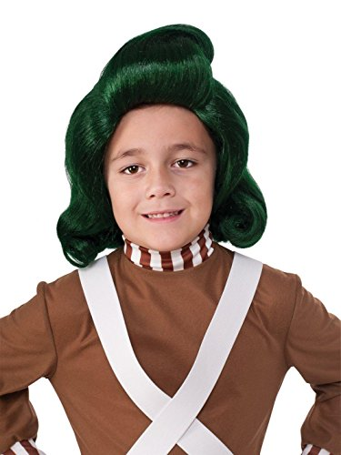 Rubie's Costume Kids Willy Wonka & The Chocolate Factory Oompa Loompa Wig -