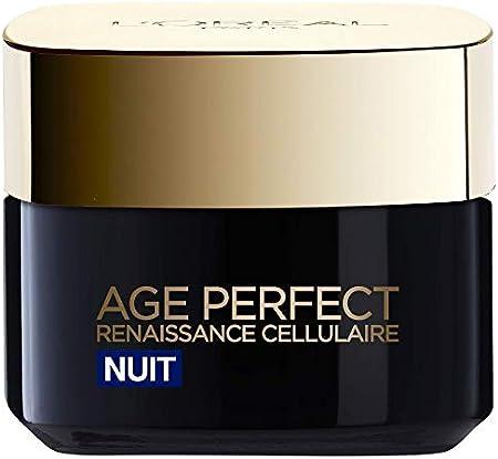 L'Oreal Paris Age Perfect Crema Noche Renaissance contra el envejecimiento celular
