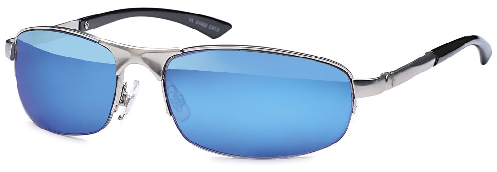 Matrix lunettes de soleil style emeco plusieurs couleurs argent/verres à reflet bleu sG2147MIX schwarz/silber Rahmen QMgpBD6RxK