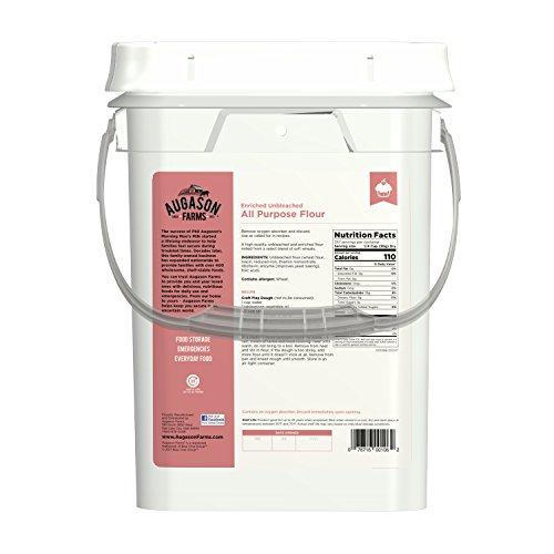 Augason Farms Enriched Unbleached All Purpose Flour by Augason Farms (Image #2)