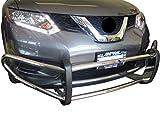 Nissan Rogue Sport Bumper Guards - VANGUARD VGFRG-1056SS Multi-fit Bumper Guard Stainless Steel Front Runner