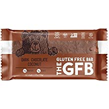The GFB Gluten Free, Non-GMO High Protein Bars, Dark Chocolate Coconut, 2.05 Ounce (Pack of 12) Packaging May Vary