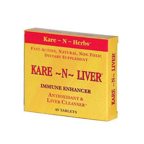 Kare-N-Herbs Kare-N-Liver - 40 Tablets by Kare-N-Herbs