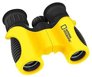 National Geographic 9103000 - Prismáticos para niños de 6 x 21, color negro y amarillo